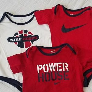 Nike One Pieces - Nike Onsie Set- 3-6 Months
